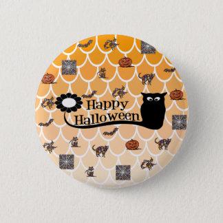 Happy Halloween emoji Button