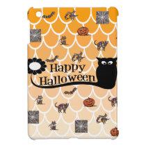 Happy Halloween emoji iPad Mini Cover