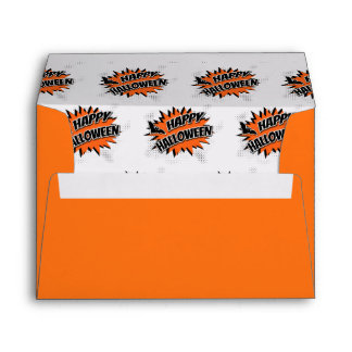 Happy Halloween Envelope