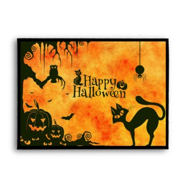 Halloween Themed Happy Halloween Envelope