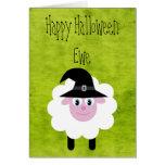 Happy Halloween Ewe Greeting Card