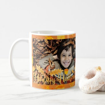Halloween Themed Happy Halloween Fall Photo Mug
