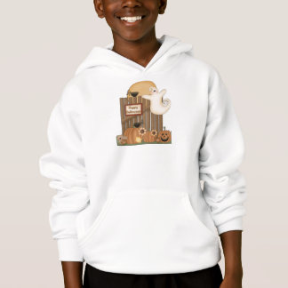 Happy Halloween Fall Scene Hoodie