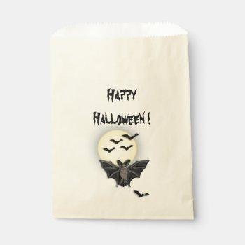 Happy Halloween Favor Bag