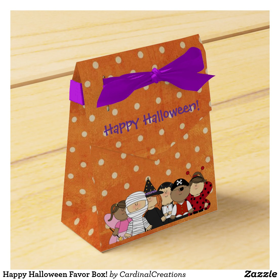Happy Halloween Favor Box!