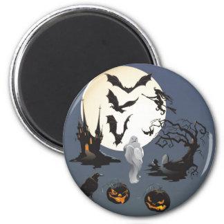 Happy Halloween Fridge Magnets