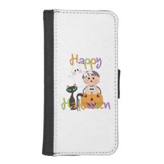 Happy Halloween Friends iPhone SE/5/5s Wallet