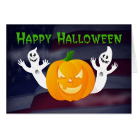 Happy Halloween from Across the Miles military Cards