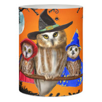 HAPPY HALLOWEEN FROM OWL OF US! FLAMELESS CANDLE