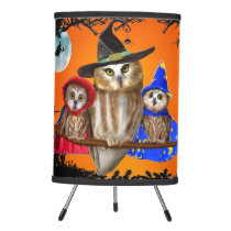 HAPPY HALLOWEEN FROM OWL OF US! TRIPOD LAMP
