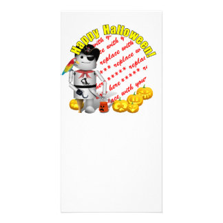 Happy Halloween from Robo-x9 Personalized Photo Card