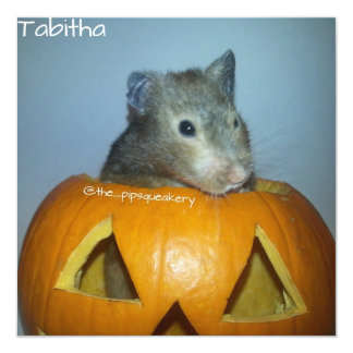 Happy Halloween from Tabitha Customized Invitation Cards