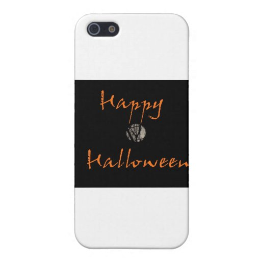 Happy Halloween Full Moon in Trees Cover For iPhone 5