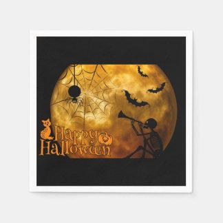 Happy Halloween Full Moon Napkin