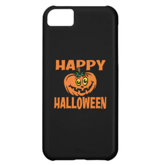 Happy Halloween Funny Pumpkin iPhone 5C Case