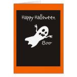 Happy Halloween Ghost Card