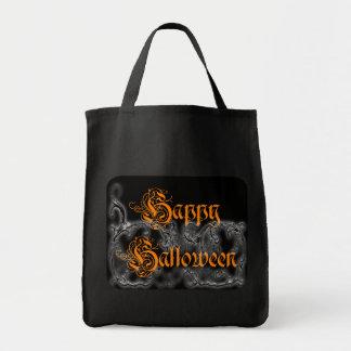 Happy Halloween Ghostly Scrolls bag
