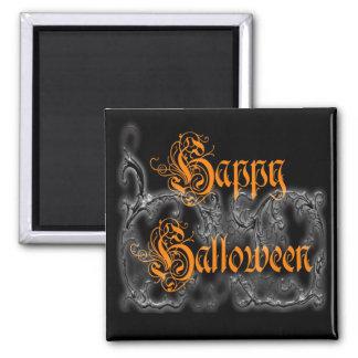 Happy Halloween Ghostly Scrolls magnet