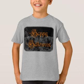 Happy Halloween Ghostly Scrolls T-Shirt
