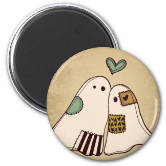 happy halloween ghosts refrigerator magnets