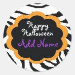 Happy Halloween Gift Label Stickers