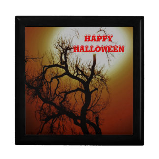 Happy Halloween giftbox Keepsake Box