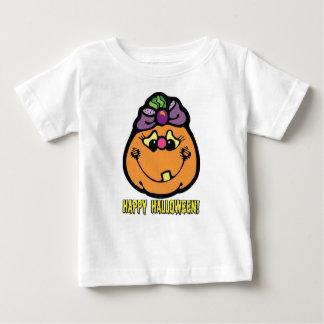 Happy Halloween Girl Pumpkin T-Shirt
