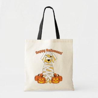 Happy Halloween Golden Retriever Tote Bag