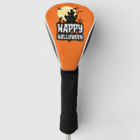 Happy Halloween Golf Head Cover