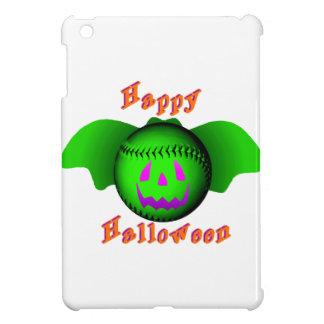 Happy Halloween Green Baseball Bat Cover For The iPad Mini