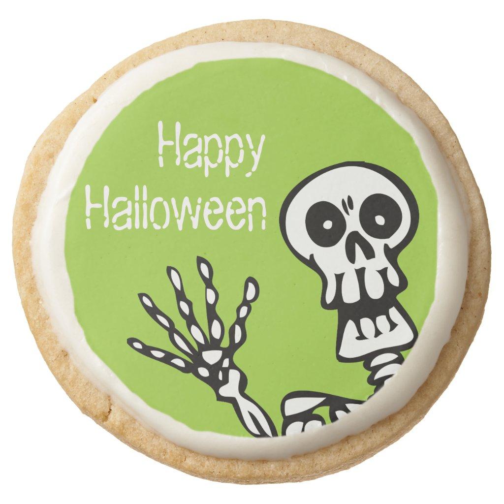 Happy Halloween Green Skeleton Party