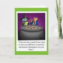 Happy Halloween Greeting Card For Halloween