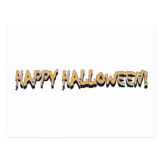 Happy Halloween Greeting Post Card