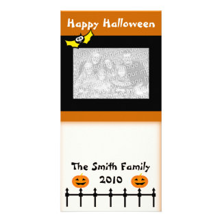 Happy Halloween Greetings Photo Card