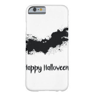 Happy Halloween grunge bats Barely There iPhone 6 Case