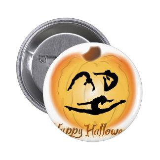Happy Halloween Gymnastics Button