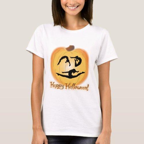 Happy Halloween Gymnastics T_Shirt
