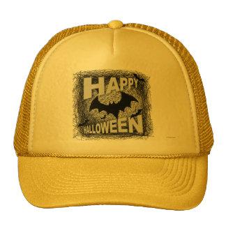 Happy Halloween Hat Yellow