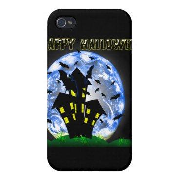 Halloween Themed Happy Halloween Haunted House Ipad  Speck Case