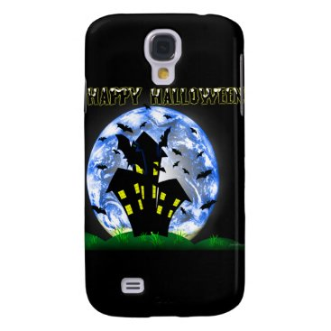 Halloween Themed Happy Halloween Haunted House Iphone 3G/GS Case