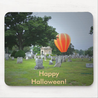 Happy Halloween!  Haunting! Mouse Pad