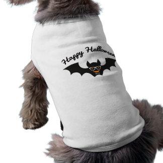 Happy Halloween Hipster Bat Doggie T-Shirt