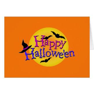 Happy Halloween Ilustrations Card