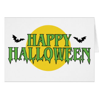 Happy Halloween in Green Card