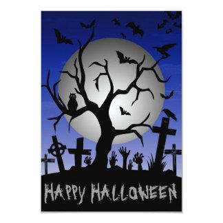 Happy Halloween 3.5x5 Paper Invitation Card
