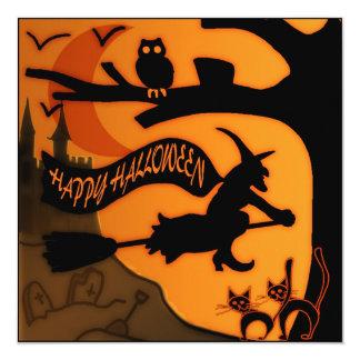 Happy Halloween Personalized Invite