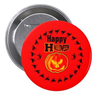 Happy Halloween! Jack - O - Lantern 4 Pin