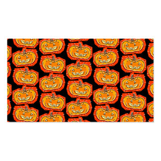 Happy Halloween Jack O' Lantern Double-Sided Standard Business Cards (Pack Of 100)