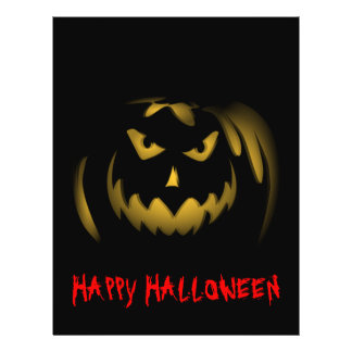 Happy Halloween Jack-o-lantern Flyer