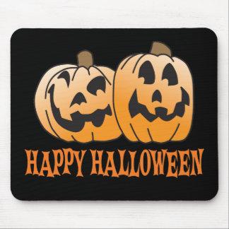 Happy Halloween Jack-O-Lantern Mouse Pad